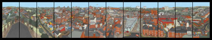 Stockport Roofscape